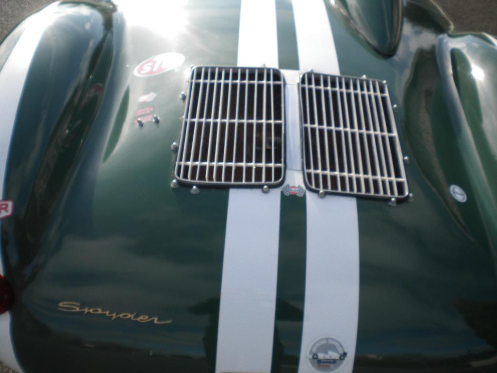 Galerie photos de la : BANHAM Porsche 550 RS réplica